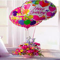 Flower w/ Balloon