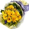Yellow Daisies Bouquet.